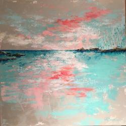 Boundless Calm - 3' x 3' Acrylic on Canvas