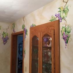 A Touch of the Vine - Just a touch of wispy grapevines was the desire of this homeowner, along with …. -