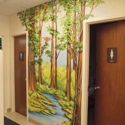 Woodland Path in the Office