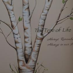 Tree of Life - Details (Words Added) - 'The Tree of Life' Reminds all that those we have lost are Always Remembered and Always in our Hearts. -