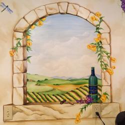 Whimsical Vine & Wine Kitchen - Details