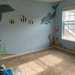 """Under the Sea"" nursery"