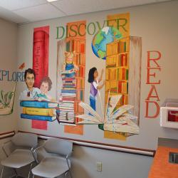 """The Library"" Pediatric Exam Room- Streetsboro, OH"