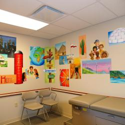 """Around the World"" Pediatric Exam Room- Streetsboro, OH"
