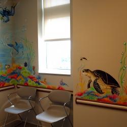 """""""Under the Ocean"""" Pediatric Exam Room - Details- Streetsboro, OH"""