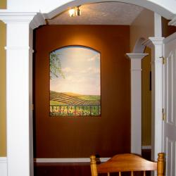 Entry Hall Niche becomes a Window