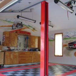 A Collector's Garage now has walls that tell a story